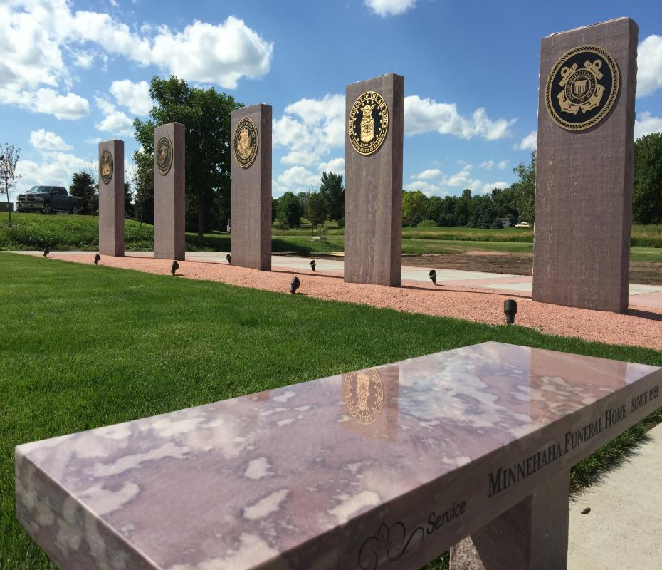 Vet Memorial in Dell Rapids, SD