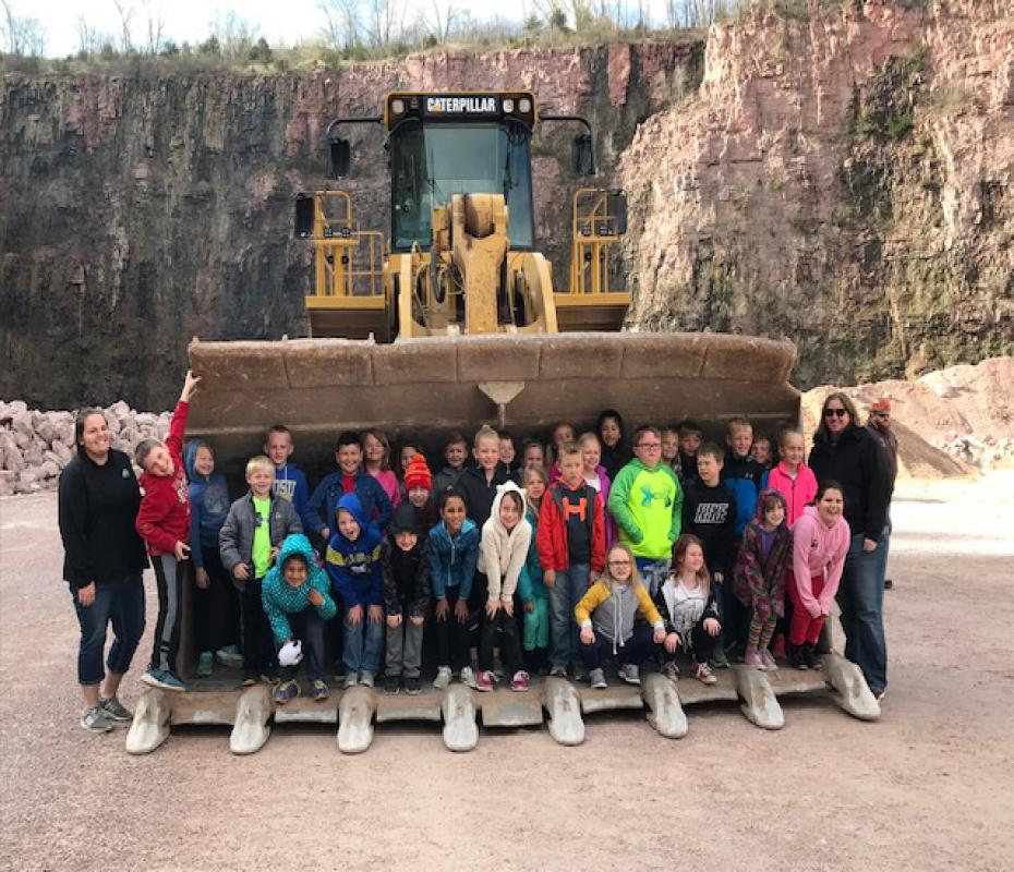 Baltic, SD Tours Dell Rapids East Quarry