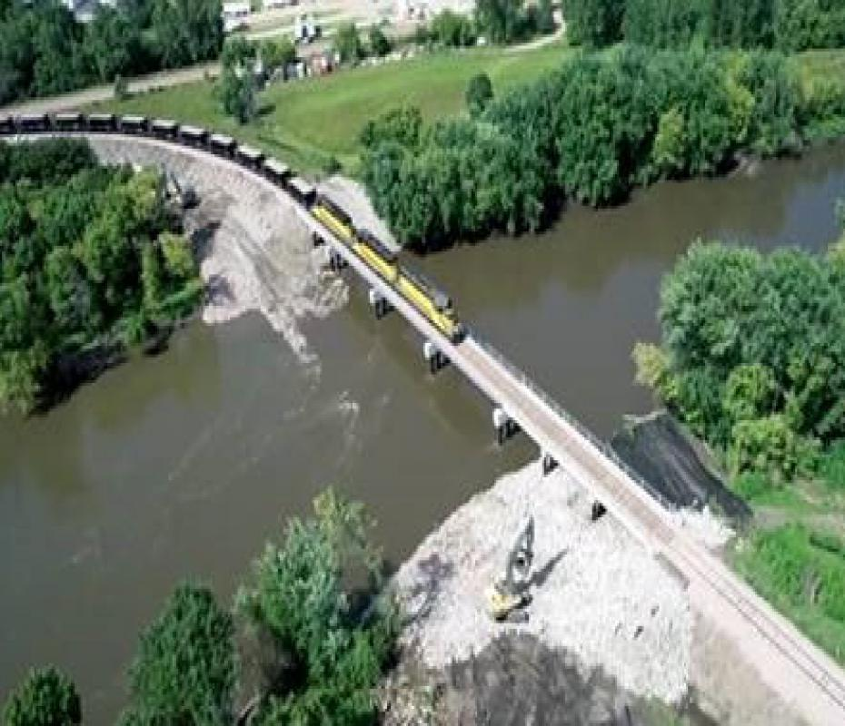New Bridge at Canton, SD