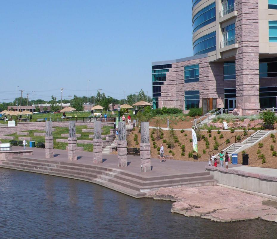 Greenway in Sioux Falls, SD